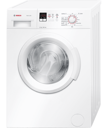 bosch washing machine front load washing machine serie 2 wab16161in bosch 11622