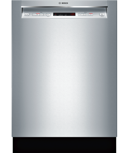 24 Recessed Handle Dishwasher Shem63w55n Stainless Steel 300