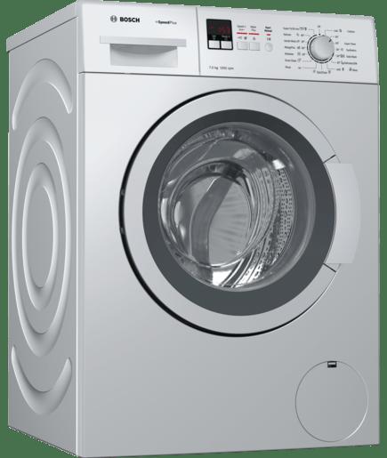 7 Kg 1200rpm Silver Front Load Washing Machine Speed Range