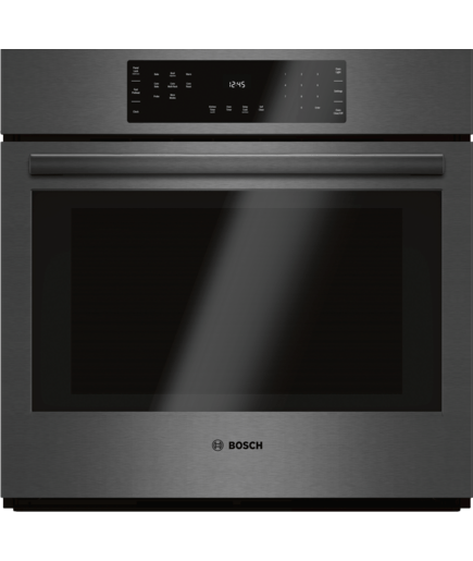 "Kitchen Remodel Keywords: 30"" Single Wall Oven, HBL8442UC, Black Stainless Steel"
