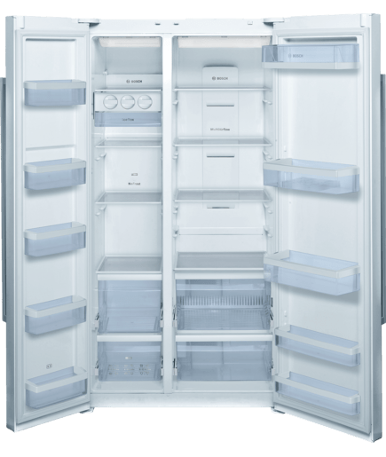 Side By Side Fridge Freezer Serie 4 Kan62v00au Bosch