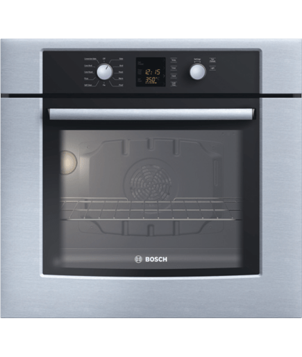 30 Single Wall Oven 300 Series Stainless Steel Hbl3450uc Bosch