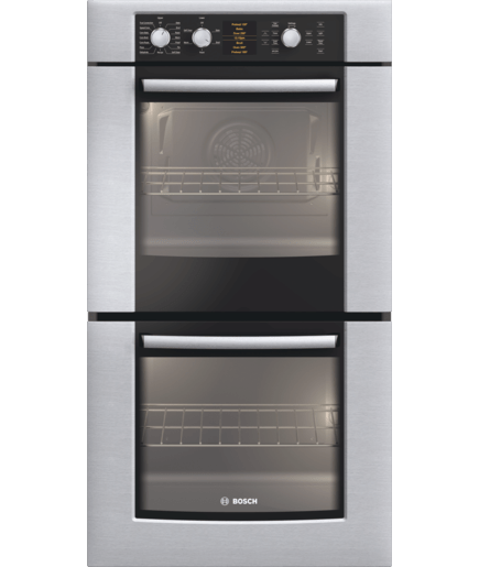 27 Double Wall Oven 500 Series Stainless Steel Hbn5650uc Bosch