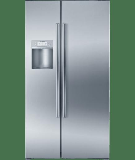 36 counter depth side by side refrigerator 500 series stainless rh bosch home com Bosch Counter-Depth Refrigerator Bosch Refrigerator Shelves