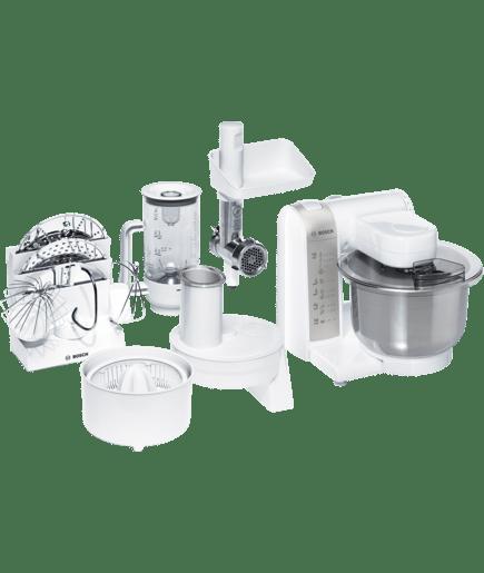 Robot de cocina blanco ean 4242002646619 mum4856eu bosch for Robot de cocina autocook