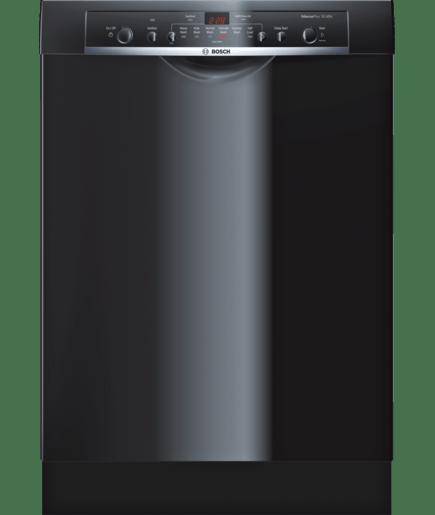24 Recessed Handle Dishwasher She3ar76uc Black Ascenta Bosch