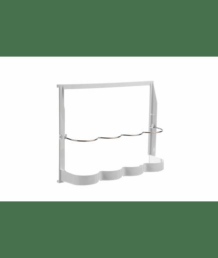 flaschenregal klappbar wei 00436162. Black Bedroom Furniture Sets. Home Design Ideas