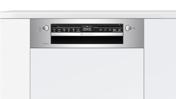Serie | 2 Εντοιχιζόμενο πλυντήριο πιάτων με εμφανή μετόπη 45 cm INOX SPI2HKS59E SPI2HKS59E-5