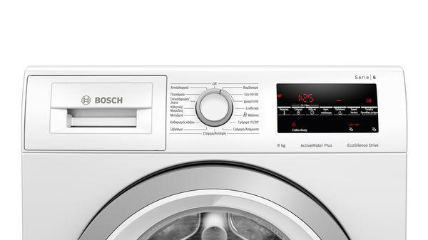 Serie | 6 Πλυντήριο ρούχων εμπρόσθιας φόρτωσης 8 kg 1400 rpm WAU28T08GR WAU28T08GR-3