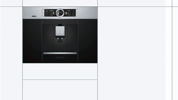Serie   8 Built in fully automatic coffee machine Stainless steel CTL636ES6
