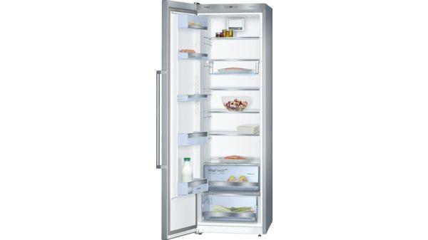 Serie | 6 Türen Edelstahl Mit Anti Fingerprint Stand Kühlautomat KSV36AI41 1