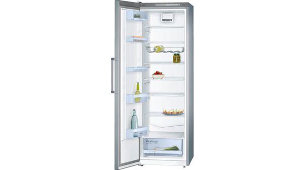 Serie | 4 Türen Edelstahl Optik Stand Kühlautomat KSV36VL30 1