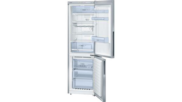 Bosch Kühlschrank Tür Wechseln : Türen edelstahl optik nofrost kühl gefrier kombination serie 4