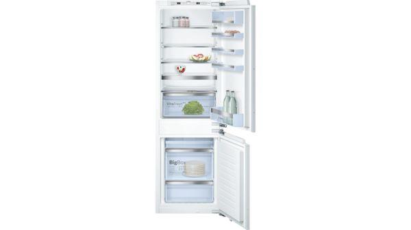 Bosch Kühlschrank Doppelt : Nofrost einbau kühl gefrier kombination flachscharnier serie 6