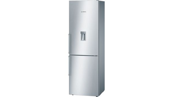 Serie | 4 Free-standing fridge-freezer with freezer at bottom 186 x 60 cm Inox-easyclean KGD36VI30G KGD36VI30G-2