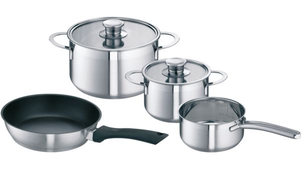 Pan Set For Induction Cooking Hez390042 00576026 Hez390042