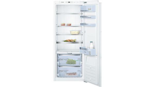 Bosch Kühlschrank Serie 8 : Einbau kühlschrank vitafresh flachscharnier mit softeinzug