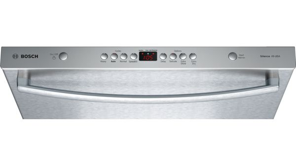 BOSCH - SHX4ATF5UC - Ascenta- Stainless steel