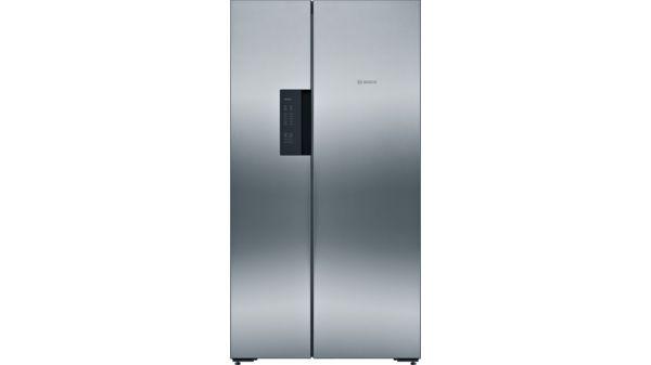 Amerikanischer Kühlschrank Sale : Türen edelstahl mit anti fingerprint nofrost kühl
