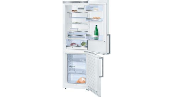 Bosch Kühlschrank Exclusiv : Türen weiß kühl gefrier kombination exclusiv serie 6