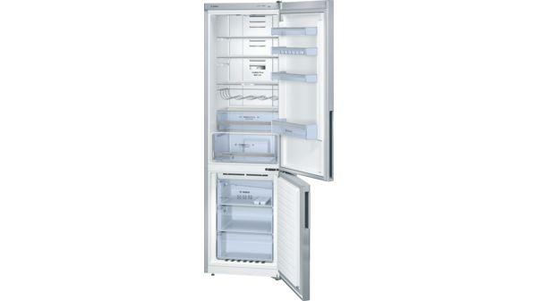 Bosch Kühlschrank Kühlt Nicht Mehr : Türen edelstahl optik nofrost kühl gefrier kombination serie 6