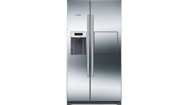 Amerikanischer Kühlschrank Bosch : Türen edelstahl mit anti fingerprint nofrost kühl