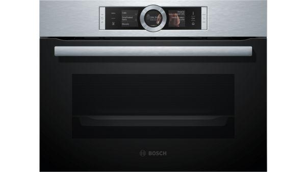 8系列 精巧型嵌入式蒸烤爐 不銹鋼 CSG656BS2 CSG656BS2-1