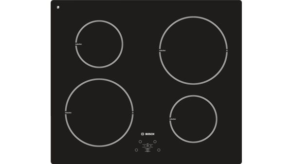Piano cottura ad induzione 60 cm Senza cornice - PIE611B10J   BOSCH