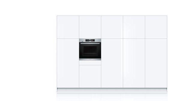 bosch hng6764s6 einbau backofen mit mikrowellen und. Black Bedroom Furniture Sets. Home Design Ideas