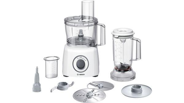 Robot da cucina compatto Colore: bianco / grigio - MCM3200W | BOSCH