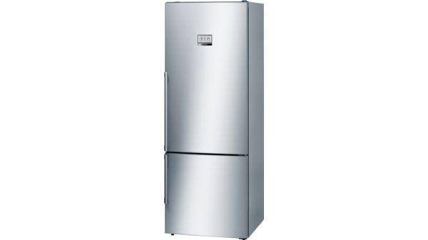 Kühlschrank Xxl Edelstahl : Nofrost kühl gefrier kombination türen edelstahl mit anti
