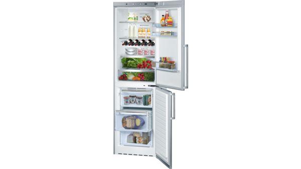 500 Series Freestanding Bottom Freezer Refrigerator Easy Clean Stainless  Steel B11CB50SSS