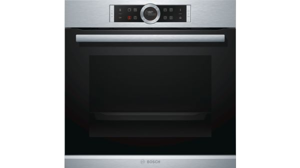 Serie | 8 Built-in oven with added steam function Stainless steel HRG675BS1B HRG675BS1B-1