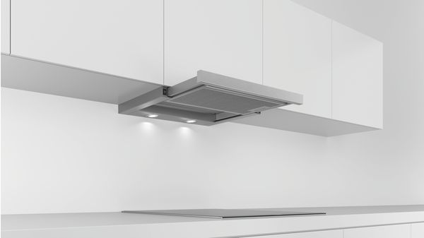 Serie | 2 Teleskopski kuhinjski aspirator 60 cm Srebrna metalik DFL064W50 DFL064W50-2