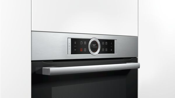 Serie | 8 Built-in oven with added steam function Stainless steel HRG675BS1B HRG675BS1B-3
