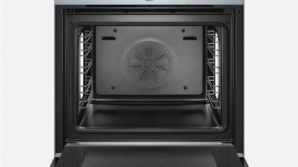bosch hrg635bs1 einbau backofen mit dampffunktion. Black Bedroom Furniture Sets. Home Design Ideas