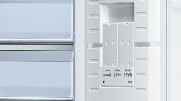 Weiß nofrost stand gefrierschrank serie 6 gsn51aw41 bosch