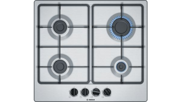 Serie | 4 Gas Hob 60 cm Stainless steel PGP6B5B60Z PGP6B5B60Z-1