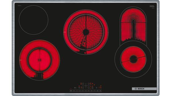 Serie | 6 electric hob 80 cm Black PKC845FP1M PKC845FP1M-1