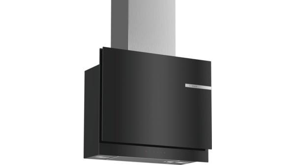 Wandesse 60 cm schwarz flach design serie 6 dwf67km60 bosch