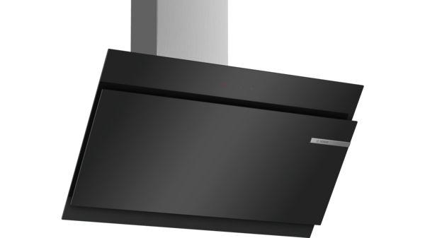 Wandesse 90 cm schräg essen design schwarz serie 6 dwk97jm60