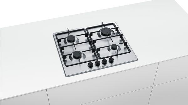 Serie | 4 Gas Hob 60 cm Stainless steel PGP6B5B60Z PGP6B5B60Z-3