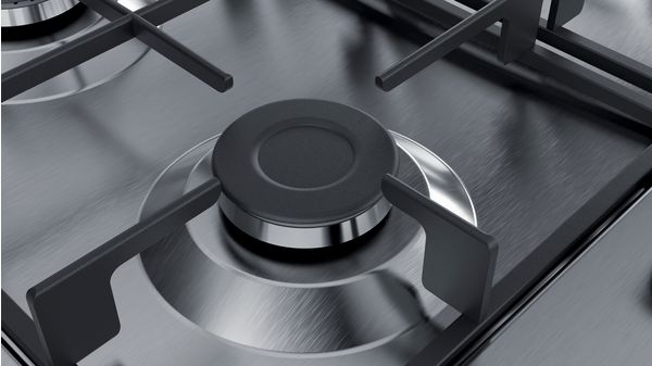 Serie | 4 Gas Hob 60 cm Stainless steel PGH6B5B60Z PGH6B5B60Z-2