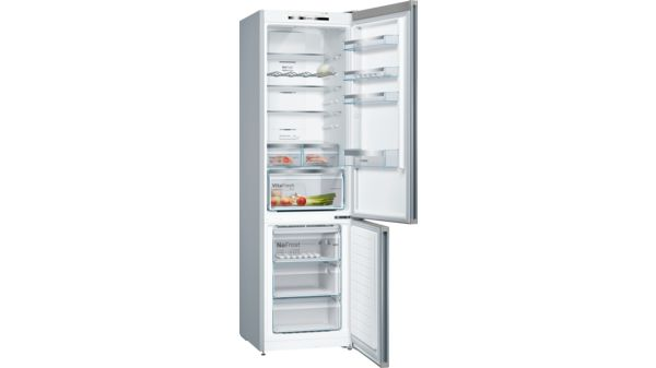 Serija |  4 Samostoječi hladilnik-zamrzovalnik s spodnjo zamrzovalno površino in izmenljivimi barvnimi frontami 203 x 60 cm KVN39IG4C KVN39IG4C-21