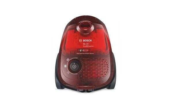 aspirateur avec ou sans sac gl 20 bag bagless rouge translucide bgl2ua3208 bosch. Black Bedroom Furniture Sets. Home Design Ideas