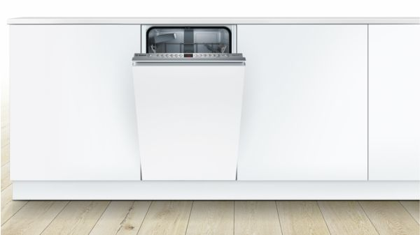 supersilence geschirrsp ler 45 cm vollintegrierbar serie 4 spv46ix01e bosch. Black Bedroom Furniture Sets. Home Design Ideas