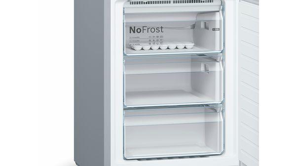 Serija |  4 Samostojni hladilnik z zamrzovalnikom s spodnjo zamrzovalno površino in izmenljivimi barvnimi sprednjimi deli 203 x 60 cm KVN39IG4C KVN39IG4C-27