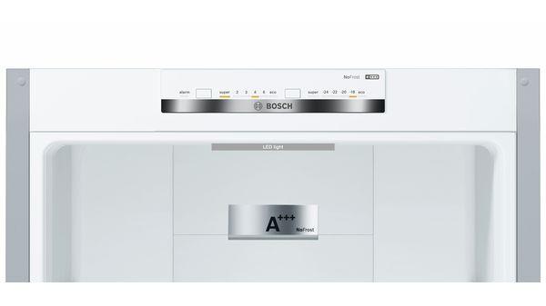Serija |  4 Samostoječi hladilnik-zamrzovalnik s spodnjo zamrzovalno površino in izmenljivimi barvnimi frontami 203 x 60 cm KVN39IG4C KVN39IG4C-23