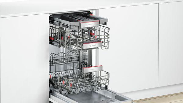 lave vaisselle 45 cm supersilence tout int grable serie 6 spv66tx04e bosch. Black Bedroom Furniture Sets. Home Design Ideas