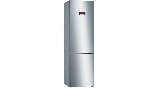 Side By Side Kühlschrank Türen Demontieren : Nofrost kühl gefrier kombination türen edelstahl mit anti